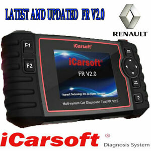 Latest Icarsoft Fr V2 0 renault Professional Abs Engine Dpf Diagnostic Scan Tool
