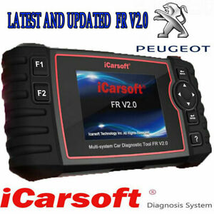 Latest Icarsoft Fr V2 0 peugeot Professional Abs Engine Dpf Diagnostic Scan Tool