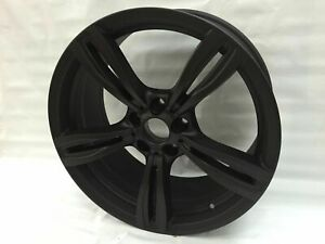 19x8 5 9 5 F10 Bmw M5 Style Matte Black Wheels Rims 5x120 Et35