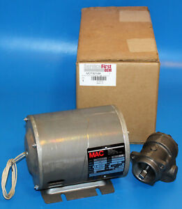 New Motor Appliance Mac B8215 3 Oil Pump Motor W Trane Pmp00558 Tank Head Pump