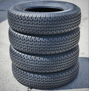 4 Tires Transeagle St Radial Ii Steel Belted St 205 75r15 Load E 10 Ply Trailer