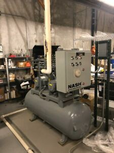 Garden Denver Nash Engineering Liquid Ring Vacuum Pump System