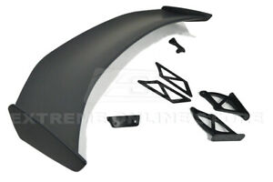Eos For 17 up Porsche 718 Cayman Boxster Gt4 Extended Style Rear Wing Spoiler