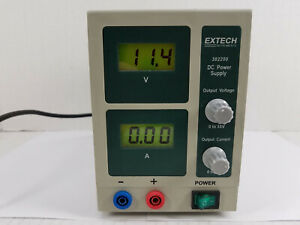 Extech Instruments 382200 Lab Bench 0 30v 1a Dc Power Supply
