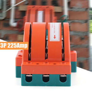 225a 3 Pole Circuit Breaker 225amp Disconnect Generator Knife Switch 3p Backup