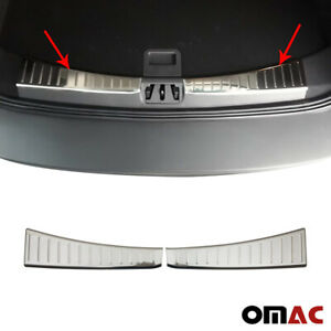 Fits Ford Escape 2017 2019 Chrome Inner Trunk Protector Trim Stainless Steel