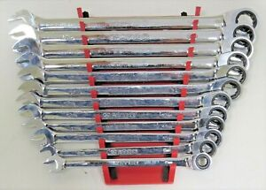Matco 7grcxl 12 Piece 72 Tooth Extra Long Metric Combo Ratcheting Wrench Set