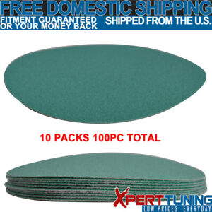 Wet Dry 5 Inch No Hole Sand Paper Disc 120 Grit Body Repair Sanding Sheet 100 Pc
