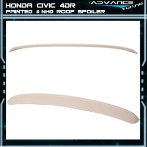 96 00 Civic 4dr Roof Spoiler Oem Painted Color Championship White Nh0