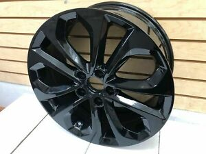 18 Honda Accord Hfp Sport Alloy Wheel Rims 2003 2015 Replacement Wheels Black