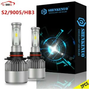 2bulbs Kit For Mazda Cx 7 2007 2010 2011 2012 9005 Hb3 Led Headlight Combo White