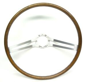 Buick Riviera 2 Bar Wood Grain Steering Wheel 1963 1964 1965 1966 1967 Gs Oem Gm