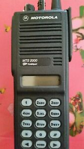 Motorola Mts2000 Model Iii 900mhz H01wch4pw1cn Radio With Battery and Antenna