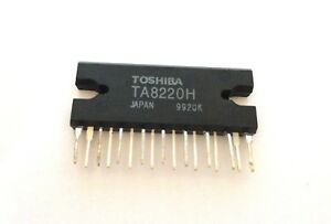 Ta8220h Audio Power Amplifier Ic s New Toshiba Lot Of 10