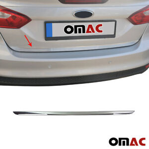 Fits Ford Focus 2012 2014 4 Dr Chrome Rear Trunk Lid Tailgate Trim Stainless