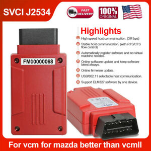 Svci J2534 Diagnostic Tool For Ford Ids V120 Support Online Module Programming