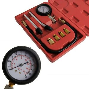 300 Psi Pressure Gauge Air Compressor Hydraulic Cylinder Tester Diagnostic Tool