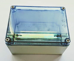 Clear Top Waterproof Plastic Electrical Enclosure With Mounting Plate