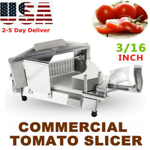 Pro Commercial Tomato Slicer 3 16 Cutter Industrial Cutting Machine Fda Usa