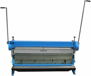52 Inch Sheet Metal Shear Finger Brake Roll Bending Machine