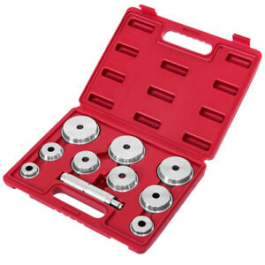 10pc Wheel Bearing Race And Seal Driver Set For Installing Axle Bearings