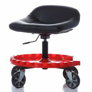 Creeper Seat Monster Padded Rolling Work Stool Heavy Duty Adjustable Height