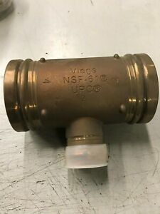 Viega 91387 Viega Propress Fittings 91387 Xl Tee 4 x 4 x 2