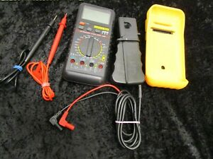 Deluxe Automotive Meter Es 585 With Leads no Case