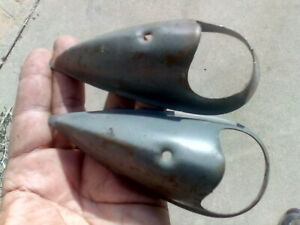1934 1960 Mac Nos Head Light Covers Ford Hot Rod Parts