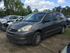 Trunk hatch tailgate Without Spoiler Fits 04 10 Sienna 373515