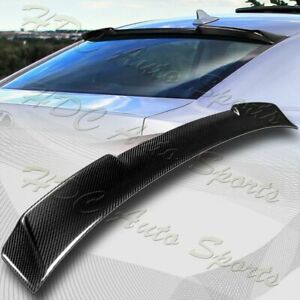 For 2006 2013 Lexus Is250 Is350 Is f Real Carbon Fiber Rear Roof Spoiler Wing