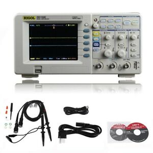 Rigol Ds1102e Digital Oscilloscope 2 Analog Channels 100mhz Bandwidth 1gsa s Sam