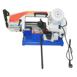 Portable Metal Band Saw 4 X 6 Round Square Cutting Cutter 1 2hp 1430 Rpm