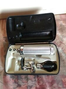 Welch Allyn Vintage 216 115 Otoscope Ophthalmoscope Diagnostic Set