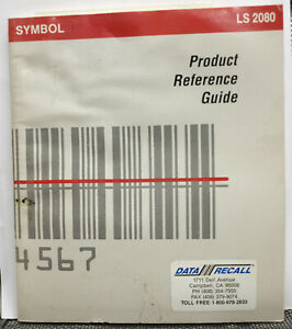 Symbol Ls2080 Bar Code Scanner Product Reference Guide