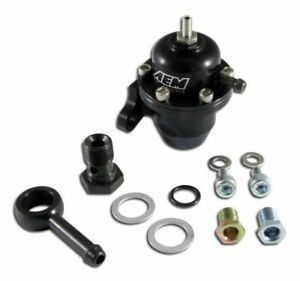 Aem Electronics 25 304bk Adjustable Fuel Pressure Regulator For Honda Civic