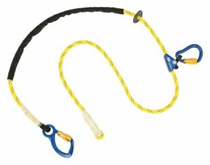 3m Dbi sala Positioning Lanyard 8 Ft Length Kernmantle Rope Line Material