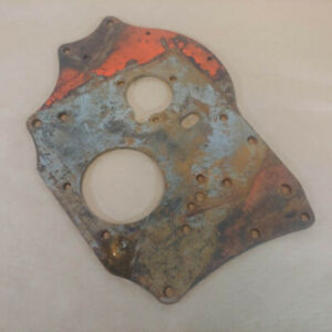 Mg Mga Mgb 1955 66 Original Front Engine Plate Early Type 12h1387 Oem
