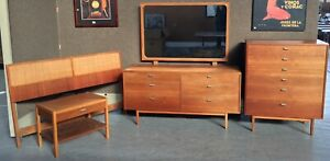 Danish Modern Bedroom Set Teak