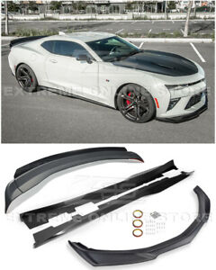 Eos For 16 18 Camaro Ss Zl1 Track Style Front Splitter Side Skirt Rear Spolier