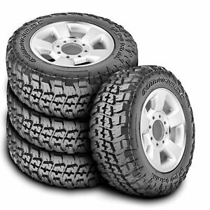 4 New Federal Couragia M t Lt 265 70r17 121 118q E 10 Ply Mt Mud Tires