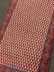 Spectacular Rare Tribal Vintage Authentic Original Area Rug 2 X 4 Fine Wool A