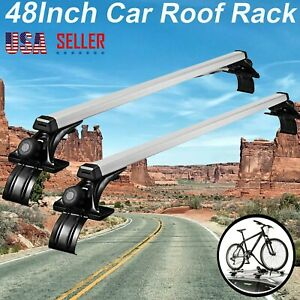 For Chevrolet Silverado 47 Car Top Luggage Cross Bar Roof Rack 3 Kind Clamps