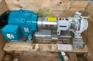 Sulzer Pump Model A11 1a Apt 11 1a Size 2x1 25x8 Material A890 Stainless