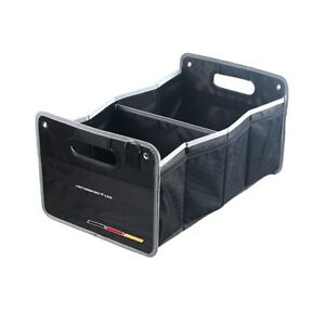 1pcs R Power Storage Box Knited Mesh Car Trunk Lid Glove Compartment Box For Vw