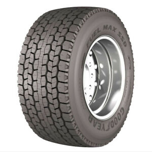 4 New Goodyear Fuel Max Ssd 445 50r22 5 Load L 20 Ply Drive Commercial Tires