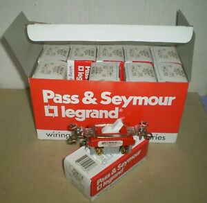Nos 10 Pack P S Ps20ac1 w Toggle Switch 120 277v 20a White