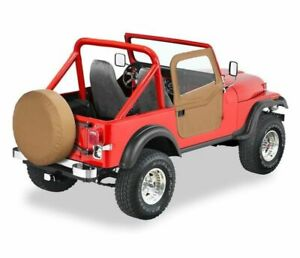 Bestop Front Full 2 Piece Soft Doors Spice For Jeep Cj7 Yj 51778 37