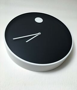 Mid Century Modern Wall Clock Howard Miller