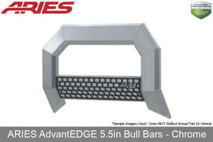 Advantedge 5 5in Bull Bar Chrome 2007 2018 Chevrolet gmc Silverado sierra 1500
